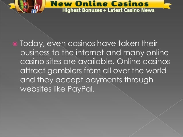 Casino Paypal Accept