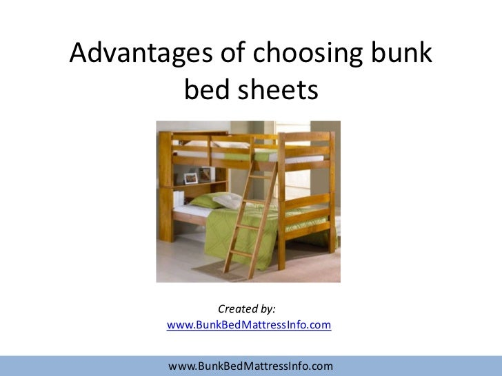 Delightful Advantages Of Choosing Bunk Bed Sheets Created By: Www.