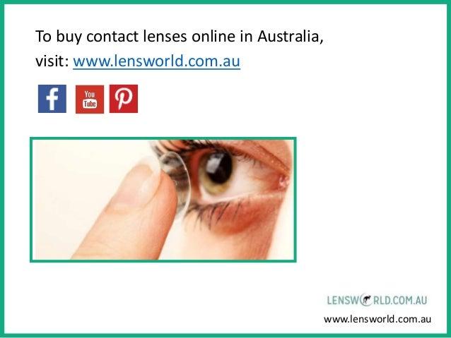 Natural Coloured Contact Lenses Australia