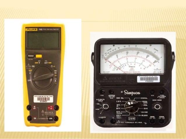Advantages Of Digital Meters Over Analog Meters Bapi Kumar Das