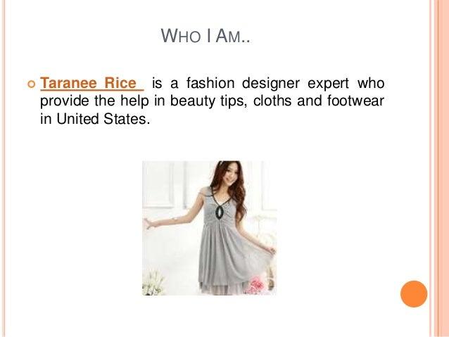 Advantages Of Fashion Designing Taranee Rice