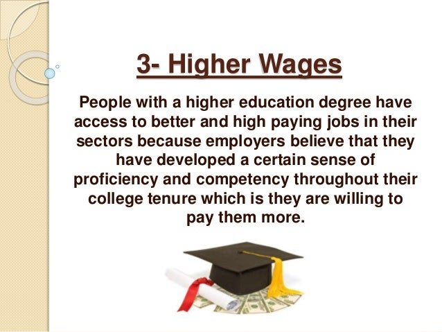 Benefits For Having A College Degree 71