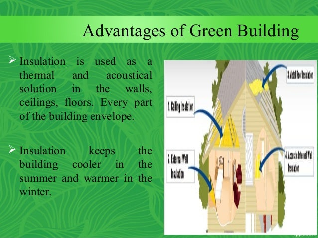 Advantages of green building for Green wall advantages