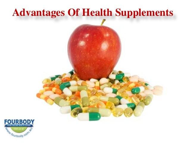 Advantages Of Health Supplements