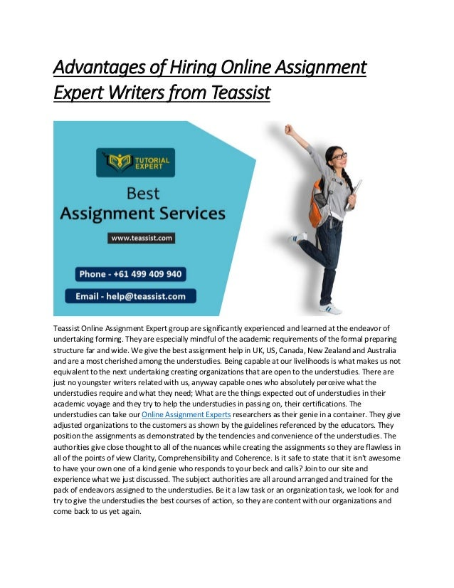 Expert assignment writers making a professional business resume