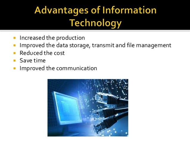 essays information technology information technology benefits This essay is all about the positive and negative sides of information technology.
