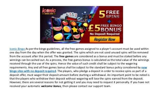 Bingo uk no deposit bonus software roulette online