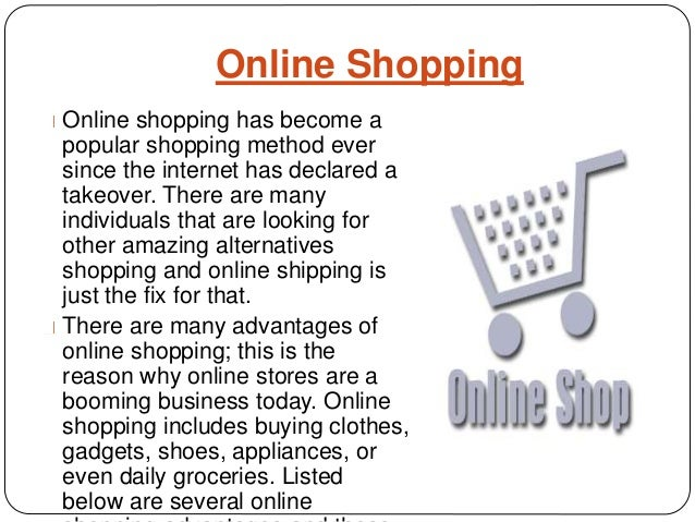 Demerits of online shopping