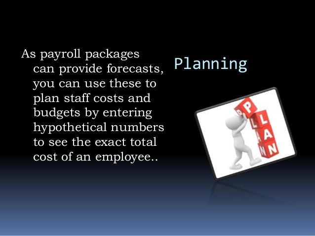 Advantages of payroll software
