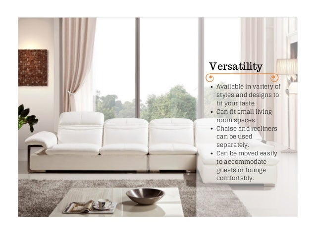 sofa buying tips: advantages of sectional sofa