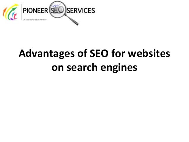 Advantages of SEO for websites on search engines