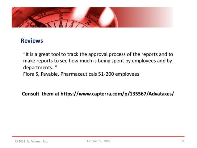 """Reviews """"It is a great tool to track the approval process of the reports and to make reports to see how much is being spen..."""