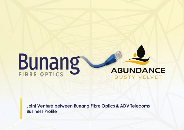 Joint Venture between Bunang Fibre Optics & ADV Telecoms Business Profile