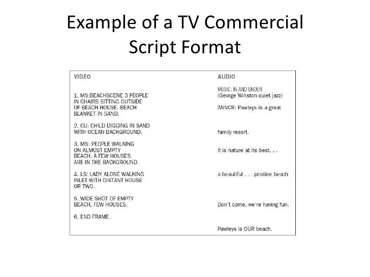 How to write a direct response TV commercial that sells