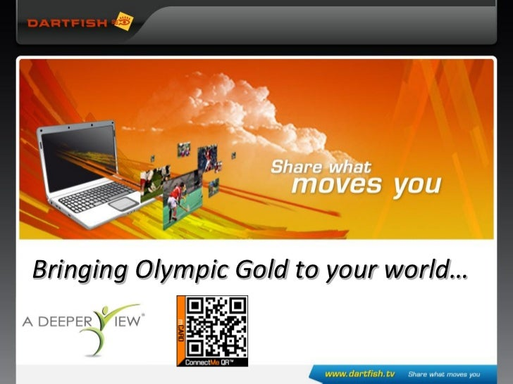 Bringing Olympic Gold to your world…