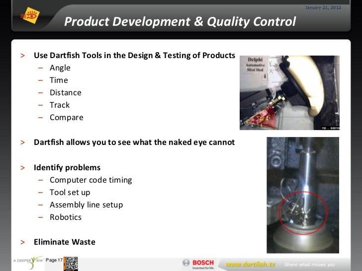 January 21, 2012                      Product Development & Quality Control >     Use Dartfish Tools in the Design & Testi...