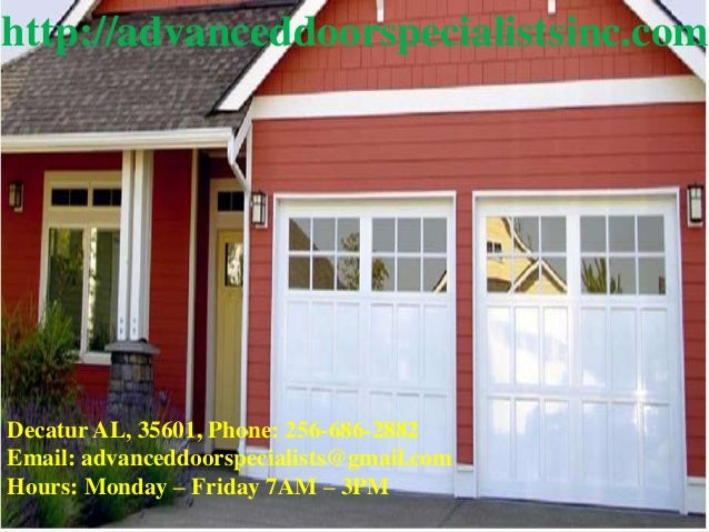 Garage Doors Decatur Al Garage Door Repair Decatur Al