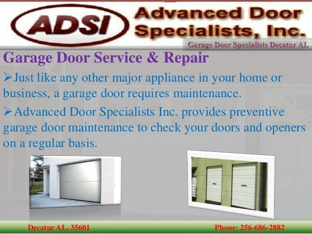 Garage Door Repair Decatur Al Ppi Blog