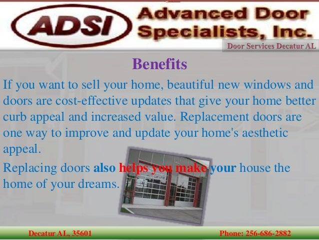 ... Garage Door Openers Tracks Decatur AL, 35601 Phone: 256 686 2882; 6.