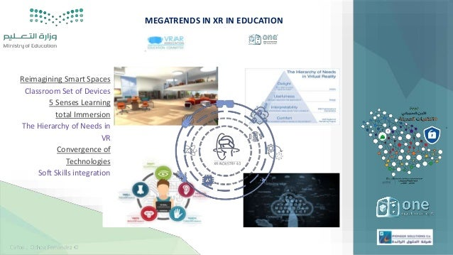 Advanced Realities in Disruptive Education  ONE STC MOE_2019