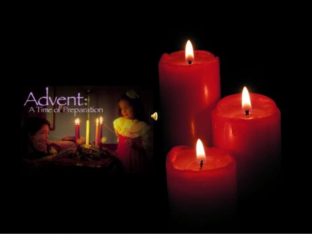"""Advent The word Advent comes from the Latin word """"adventus"""" and means """"coming"""" It is associated with the four weeks of pre..."""