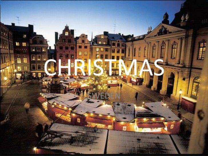 Christmas In Sweden.Christmas In Sweden