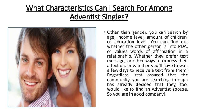 Seventh Day Adventist Free Hookup Sites