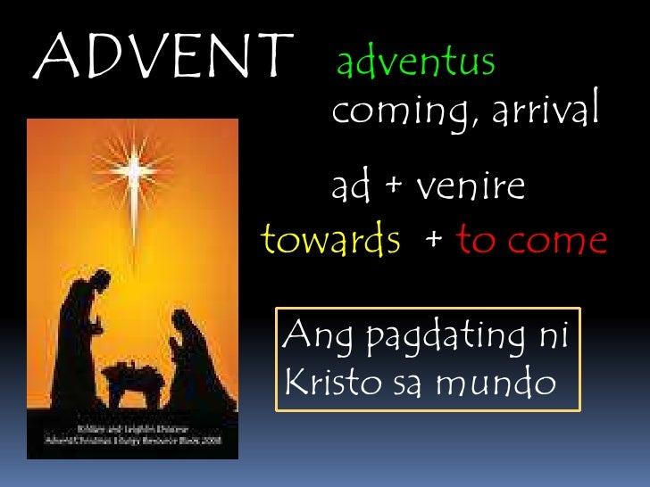 advent powerpoint