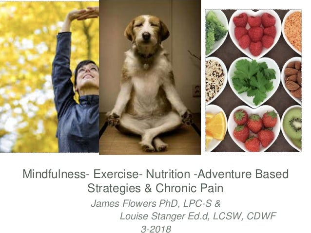 Mindfulness- Exercise- Nutrition -Adventure Based Strategies & Chronic Pain James Flowers PhD, LPC-S & Louise Stanger Ed.d...
