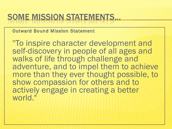 Examples Of Personal Mission Statements For Teachers Gallery