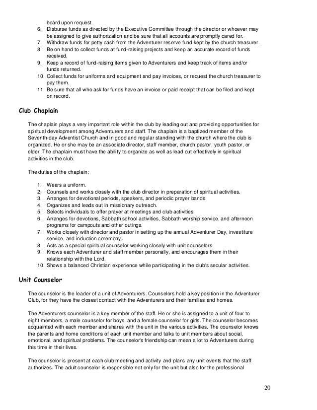 adventurer club manual rh slideshare net Military Leadership Field Manual Training Manuals On Leadership