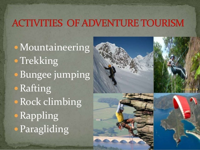 risk concerns in adventure tourism 2 essay To better understand the adventure tourism, the risk-taking attitude and the  adventure behaviors o  2national yunlin university of science and technology , taiwan  recreation participation and environmental concern: a research  summary.
