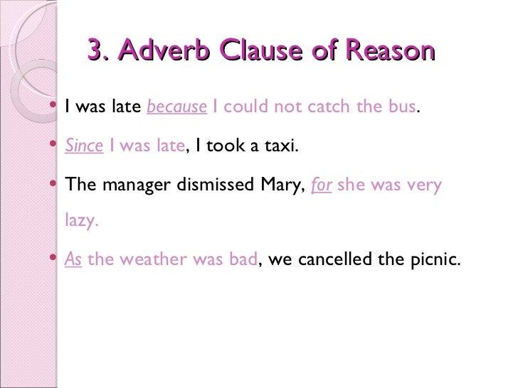 Adverb clauses – Adverb Clause Worksheet