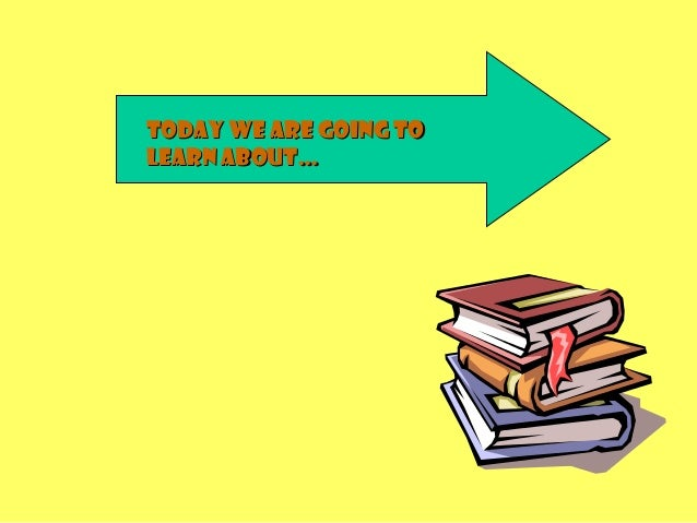 Today we are going toToday we are going to learn about…learn about…