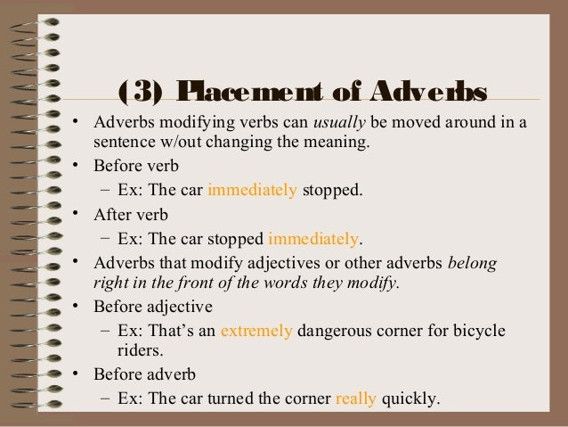 Adverbs 1
