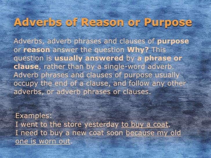 Adverbs In The English Language