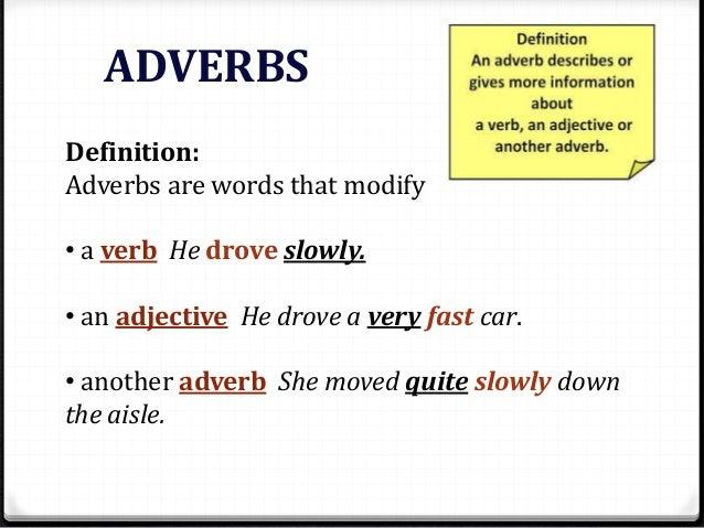 Adverb - Boxfirepress