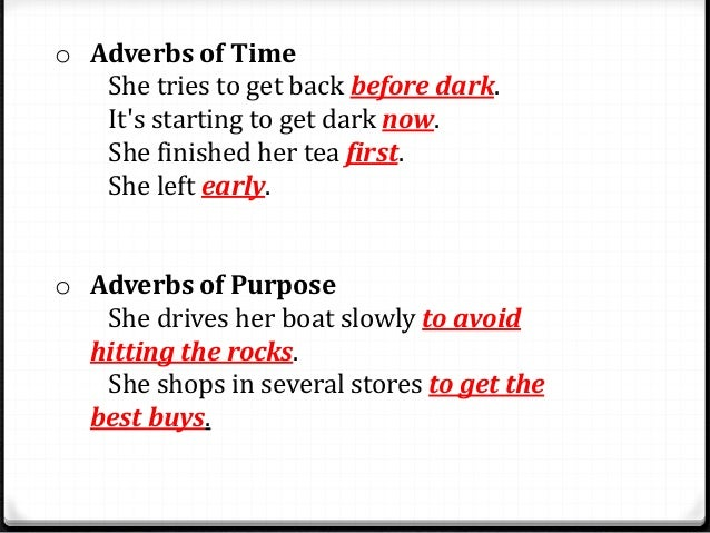 Adverbs Of Degree