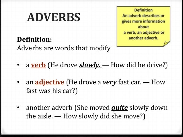 what does move slowly mean