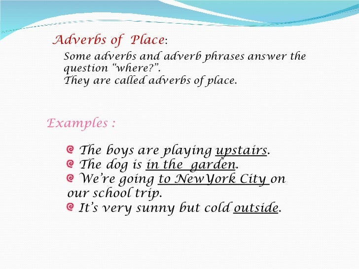 Adverbs Presentation