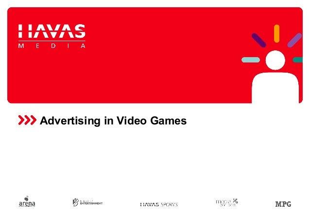 Advertising in Video Games