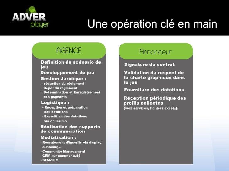 Pour nous contacter105 Rue des Moines 75017 ParisTel : 01 40 25 47 27mail : partenariat@adverplayer.com
