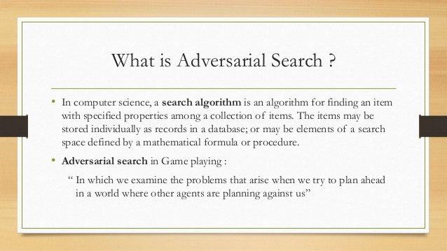 Adversarial Search - Loyola Marymount University