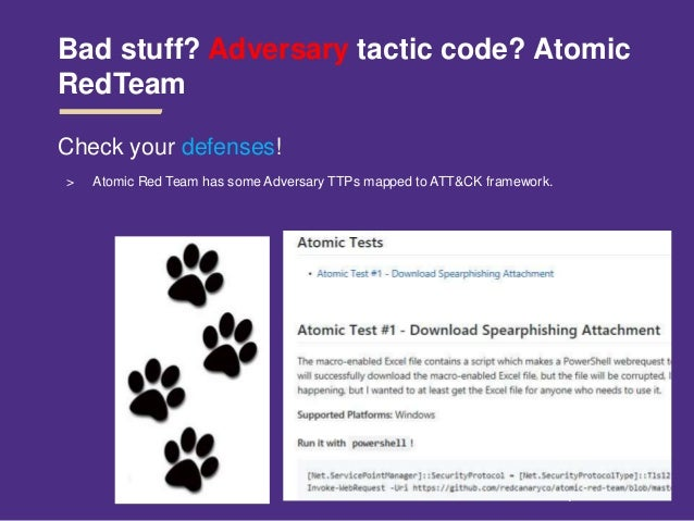 Adversary tactics config mgmt-&