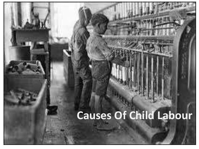 Child labour in india cause and remedies
