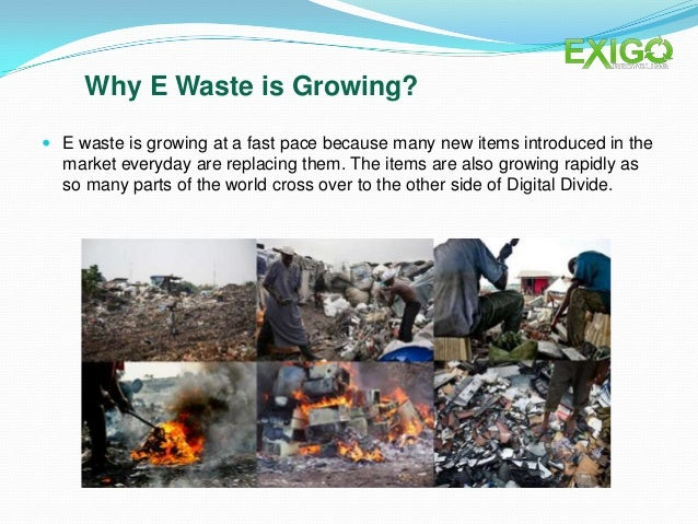 The Human and Environmental Effects of E-Waste