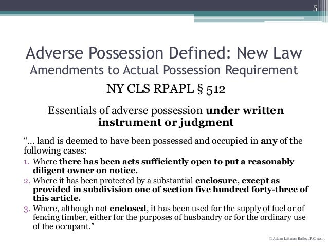 affidavit of adverse possession pdf
