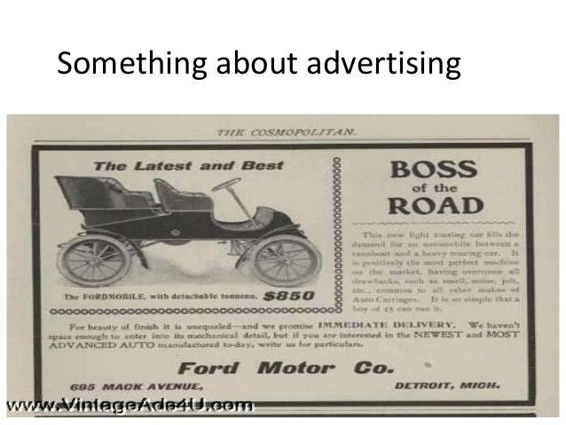 Something about advertising
