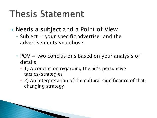 sample visual analysis essay