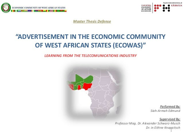 Ecowas thesis africa professional blog post writing website for masters